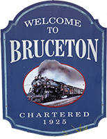Bruceton Welcome Sign