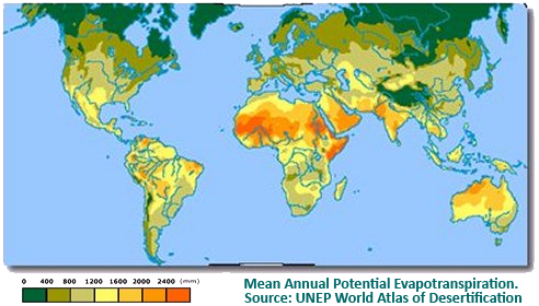 Mean Annual Potential Evapotranspiration